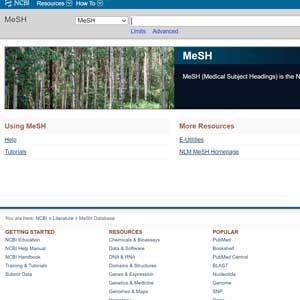 MeSH terms